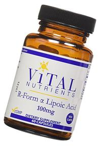 R-Form Lipoic Acid 100 mg 60 VegiCaps