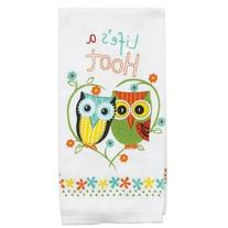 Kay Dee Designs R1230 Life inchs A Hoot Terry Kitchen Towel