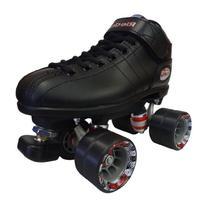 Riedell R3 Black Speed Skates - R3 Black Quad Speed Roller