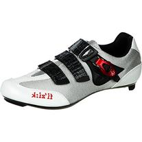 Fizik Men's R3 Uomo Road Cycling Shoes, Black/Red, Size 46