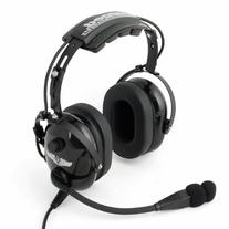 Rugged Air RA900 General Aviation Pilot Headset with Stereo/