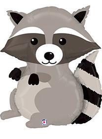 Raccoon Mylar Supershape Balloon, New Arrival