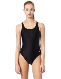 Speedo Race Xtra Life Lycra Solid Super Pro Swimsuit, Black