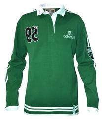Traditional Arthur Guinness Signature Green Rugby Jersey