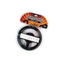 Gear Monkey Racing Wheel for Nintendo Wii - Black,