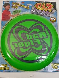 Rad Flyer Green Competition Disc 180 Grams Words On Frisbee