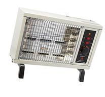 Comfort Zone Radiant Electric Wire Element Box Heater, White
