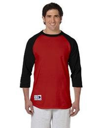 Men's Topman Raglan Baseball T-Shirt