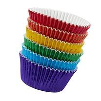 Wilton 415-5172 72 Count Rainbow Cupcake Liners