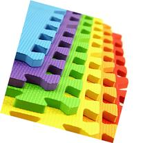 IncStores - Rainbow Foam Tiles  - 2ft x 2ft Interlocking