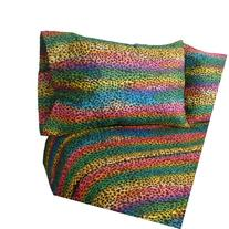 Street Revival Rainbow Leopard Full Sheet Set, Multi