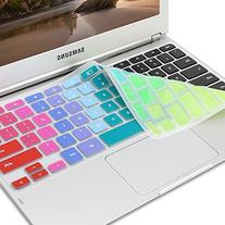 GMYLE Rainbow Silicon Keyboard Cover  for Samsung ARM 11.6""
