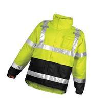 Rainwear Jacket, Class 3, Ylw/Grn, M
