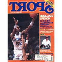 Ralph Sampson Unsigned Sport Magazine - December 1982