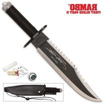 Rambo First Blood Part II Knife: Sylvester Stallone Edition