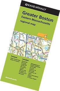 Rand McNally Greater Boston Eastern Massachusetts Regional