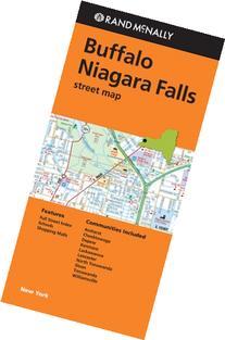 Rand McNally Folded Map: Buffalo and Niagara Falls Street