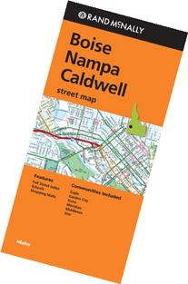 Rand Mcnally Folded Map: Boise, Nampa and Caldwell Street