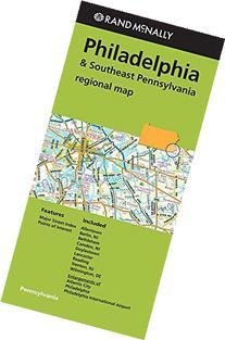 Rand Mcnally Regional Map Philadelphia & Southeast