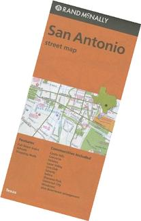 Rand McNally Folded Map: San Antonio Street Map
