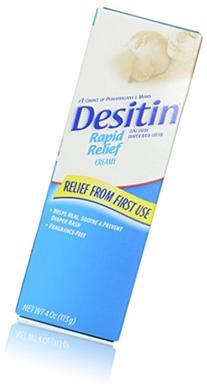 Desitin Rapid Relief Diaper Rash Remedy, Fragrance-Free