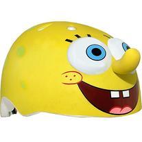 Raskullz Nickelodeon SpongeBob SquarePants Helmet, Yellow,