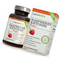 NatureWise Raspberry Ketones Plus+ Advanced Antioxidant