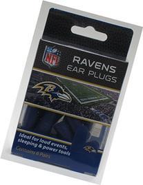 Ravens Earplugs 6 Pair 3 Pack