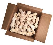 """Rawhide Bones 5-6""""   Pack of 25   100% Natural Beef Hides"""