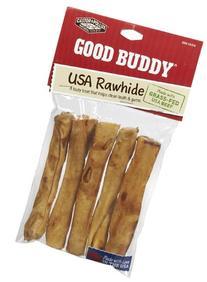 "Rawhide Sticks 5"" 5 Pieces"