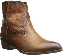 FRYE Women's Ray Seam Short Boot,  Cognac, 6 M US
