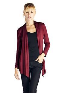 Women'S Rayon Span Super Comfortable Basic Cardigan -