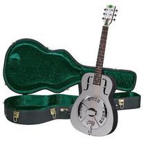Regal RC-4 Metal Body Duolian Guitar - Nickel-Plated Brass
