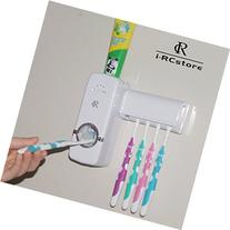 RC Auto Toothpaste Dispenser, Hands Free Toothpaste Squeezer