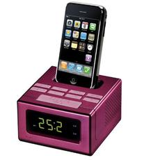 RCA RC130iPK Clock Radio with Built-In iPod Dock 4G