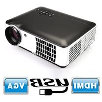 Flylinktech RD-806A 2800 Lumens Movie Projector Video Led