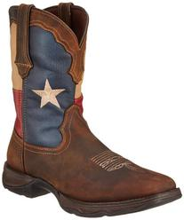 Durango Women's 10 Inch Flag RD3446 Western Boot,Dark Brown/