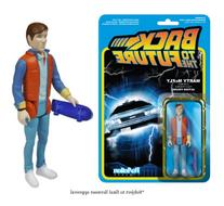 Reaction Back To The Future Marty Mcfly 3.75 Action Figure