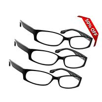 Reading Glasses - 3 Pack - Always Have Crystal Clear Vision