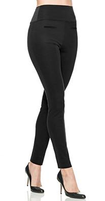 SPANX Ready-To-Wow Classic Twill Leggings, Black, Large