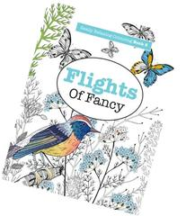 Really RELAXING Colouring Book 5: Flights Of Fancy: A Winged