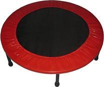 Propel Trampolines Rebounder Fitness Trampoline, Red, 38-