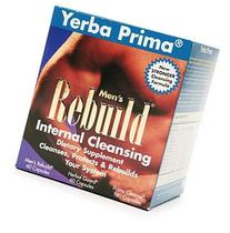 Yerba Prima Men?s Rebuild? Internal Cleansing System Box, 60