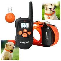 Rechargeable 330 Yards Dog Shock Training Collar with Safe