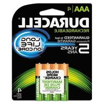 DURNLAAA4BCD - Rechargeable NiMH Batteries with Duralock