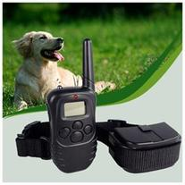 Rechargeable Remote Control 100 Level LCD Dogs Training