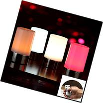 Vongem Wireless LED Rechargeable Table Lamps, Bedside Desk