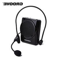 Croove Rechargeable Voice Amplifier, with Waist/Neck Band &
