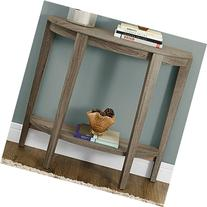 Monarch Specialties Reclaimed-Look Half Moon Hall Console