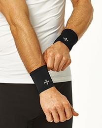 Tommie Copper Men's Recovery Affinity Wrist Sleeve, Black,